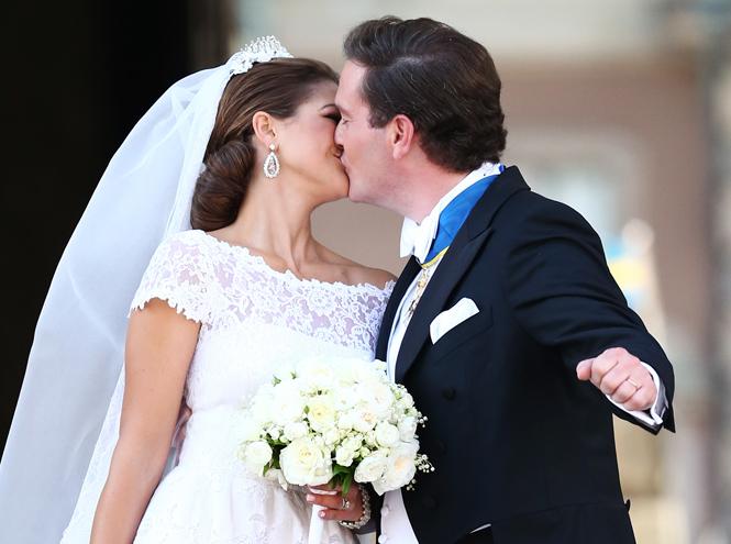 Фото №44 - Самые забавные моменты на королевских свадьбах (истории в фотографиях)