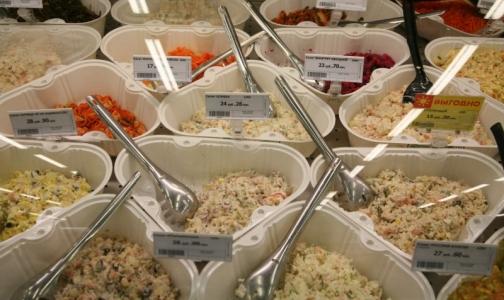 Фото №1 - В салатах из петербургских супермаркетов обнаружили плесень и стафилококк