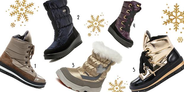 Фото №2 - Топ-10: Теплая и классная зимняя обувь
