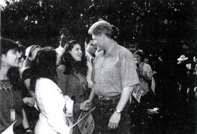 Фото №3 - Билл и Хиллари Клинтон: свободные отношения и слезы бывшей первой леди