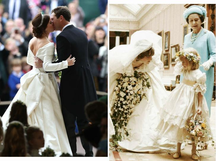 Фото №1 - Самые трогательные фотографии, снятые «за кулисами» королевских свадеб