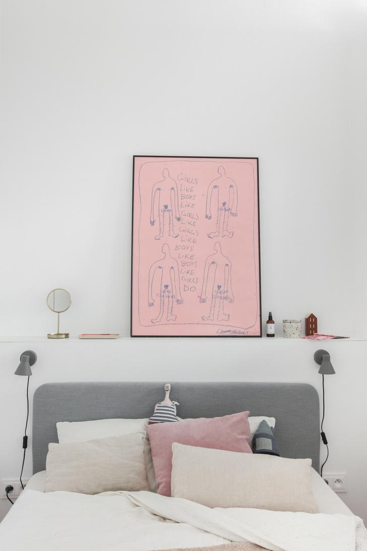 Фото №7 - Маленькая квартира в розовых тонах в Варшаве