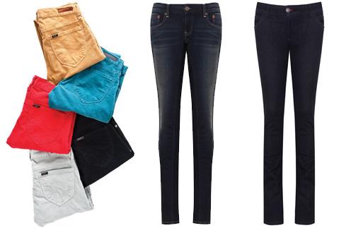 Джинсы Lee в период зимних распродаж обойдутся в 1600 рублей, а джинсы CK Jeans - в 6000-7000 рублей