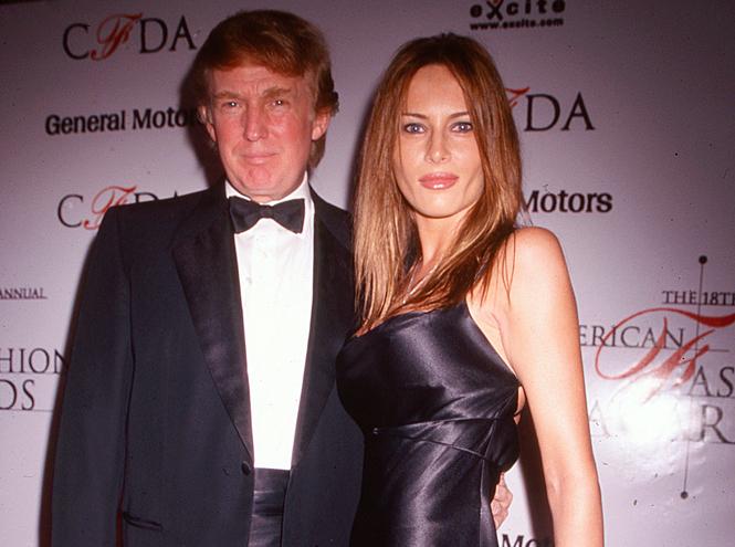 Фото №6 - Первая любовь: с кем встречалась Мелания до встречи с Дональдом Трампом