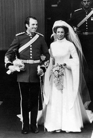 Фото №11 - Первая свадьба принцессы Анны: как выходила замуж дочь Елизаветы II