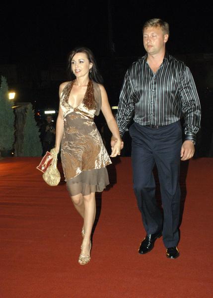 Анастасия с первым мужем Дмитрием.