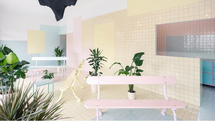 Фото №1 - Спа-центр в пастельных тонах в Женеве