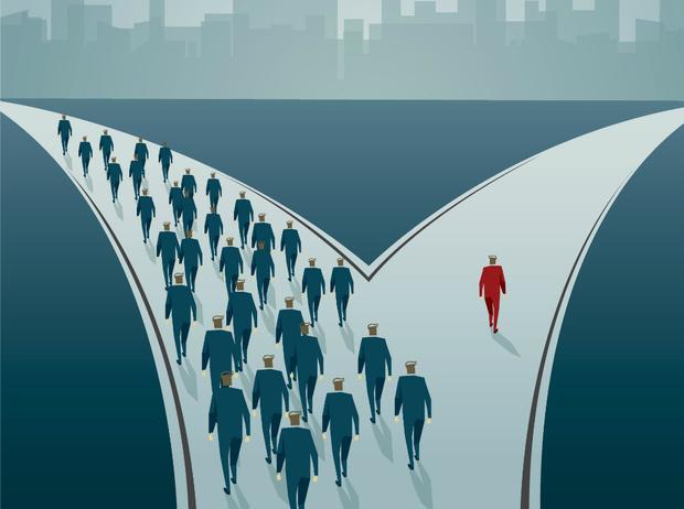 Фото №1 - Закон пяти процентов: почему мы поддаемся влиянию толпы