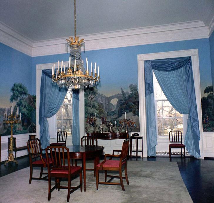 Фото №3 - Классика с личным акцентом: как первые леди США меняли Белый дом