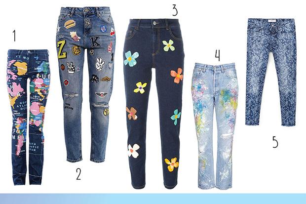 Фото №2 - Топ-15: Необычные джинсы