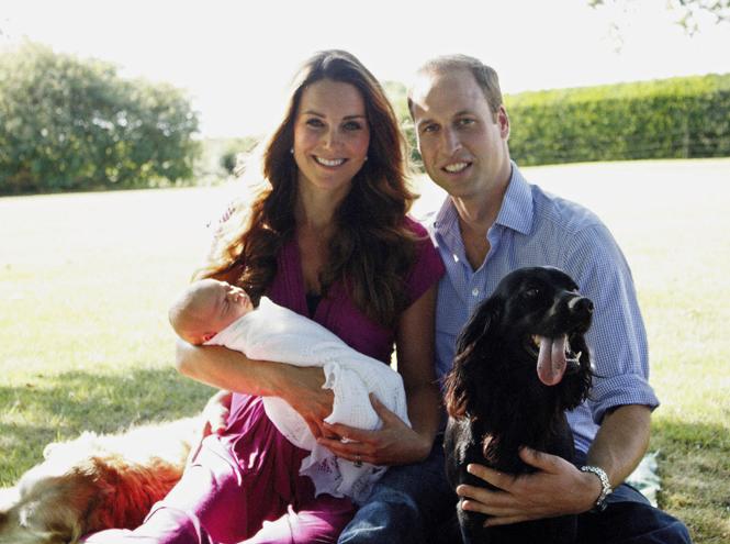 Фото №5 - Кейт Миддлтон сделала первые фото принцессы Шарлотты
