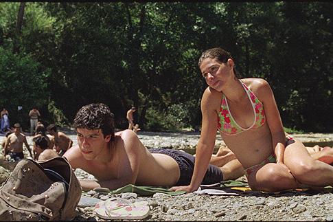 Кадр из фильма «Наш любимый месяц август»