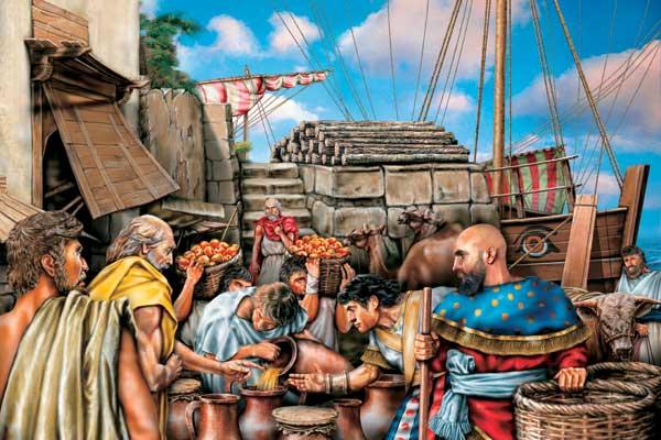 Фото №1 - Финикийцы: наследство морских царей