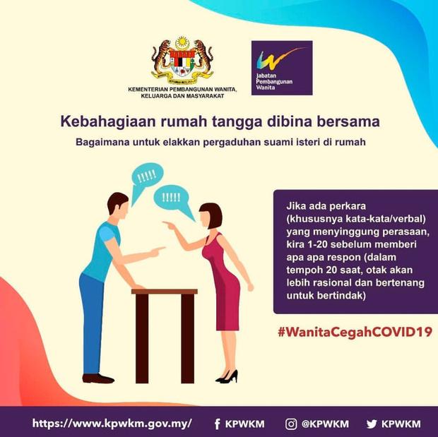 Фото №4 - Власти Малайзии дали сексистские советы женщинам, как вести себя с мужьями на карантине
