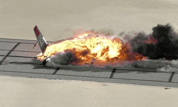 Фото №1 - Краш-тест авиалайнера Boeing 720 (фото, видео)