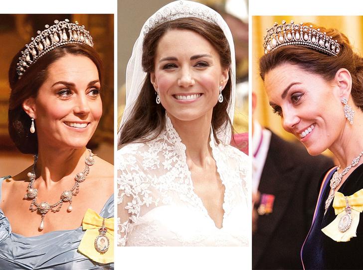 Фото №1 - Диадемы для герцогини: все знаковые выходы Кейт в тиарах