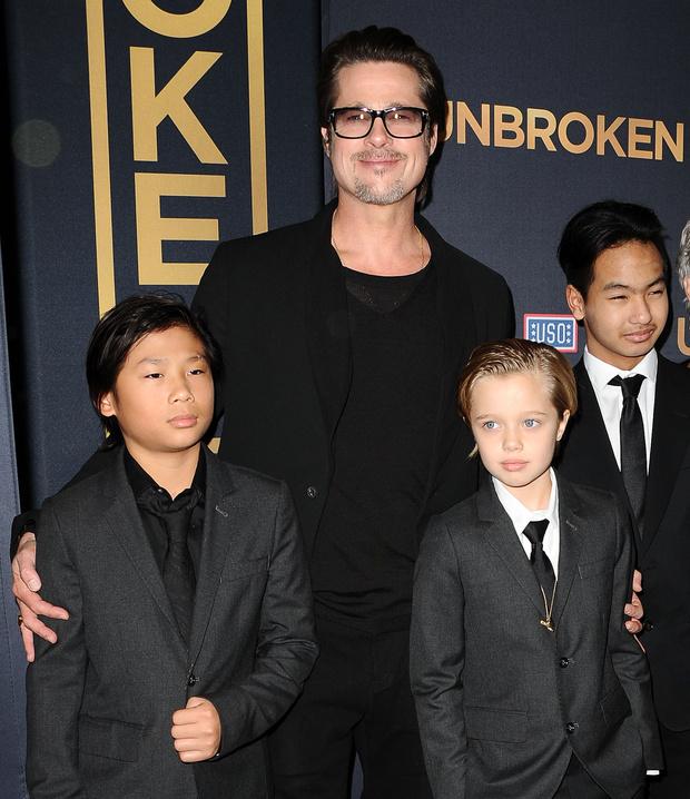 Фото №2 - Анджелина Джоли и Брэд Питт наконец-то поделили своих шестерых детей