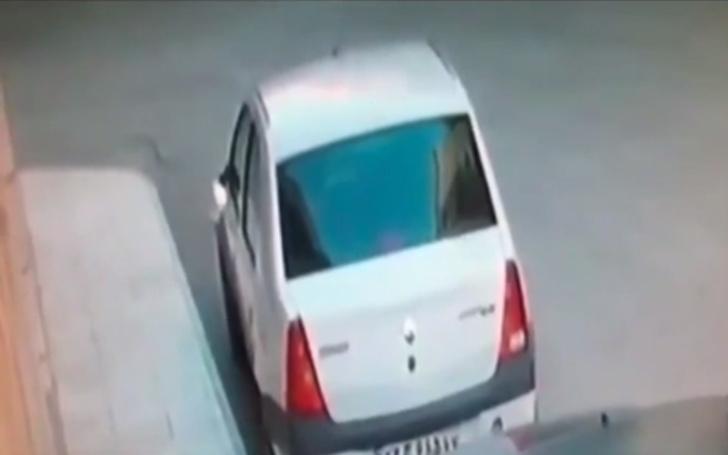 Фото №1 - Владельцы машины хотели узнать, кто оторвал боковое зеркало заднего вида, и посмотрели запись с камеры наблюдения (видео)