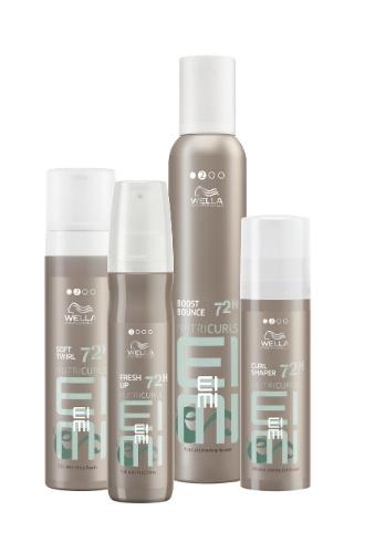 Стайлинг-линия для волос Styling Range EIMI NUTRICURLS от Wella