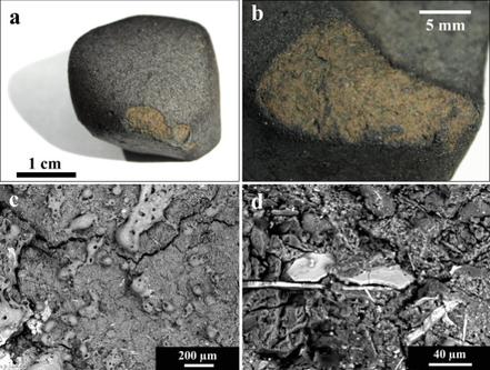 Фото №1 - В метеорите нашли древнейшие карбонаты в Солнечной системе