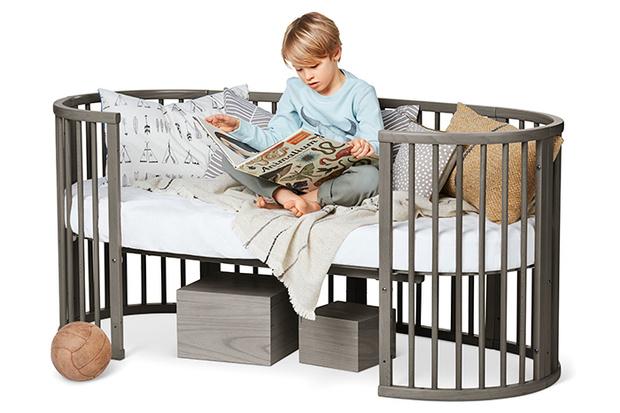 Фото №7 - Скандинавские сны: Stokke® Sleepi™ - новый цвет кроватки-трансформера