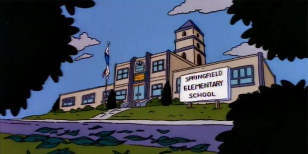 Фото №3 - Школа из «Симпсонов»: 10 скрытых деталей, которые ты точно не заметила