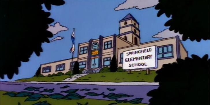 Фото №4 - Школа из «Симпсонов»: 10 скрытых деталей, которые ты точно не заметила