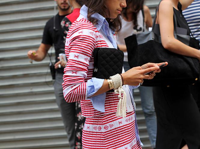 Фото №5 - Образы гостей недели моды в Нью-Йорке в прошедшие выходные