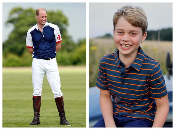Фото №1 - Особое обращение: как принц Джордж называет отца