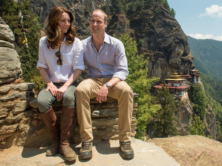 Фото №1 - 10 милых и забавных фото, доказывающих, что Кейт и Уильям— обычная семейная пара