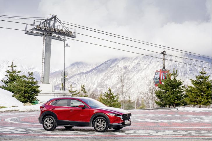 Фото №1 - Тест-драйв: Mazda CX-30 как образец путешествия со вкусом