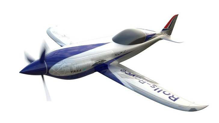 Фото №1 - Компания Rolls-Royce представила легкомоторный электрический самолёт