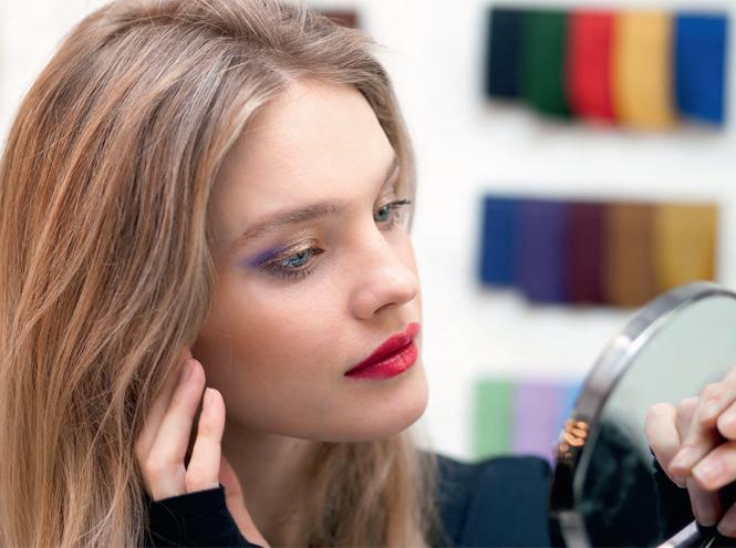 Фото №7 - Звезда Востока: Рождественская make-up коллекция Натальи Водяновой для Guerlain