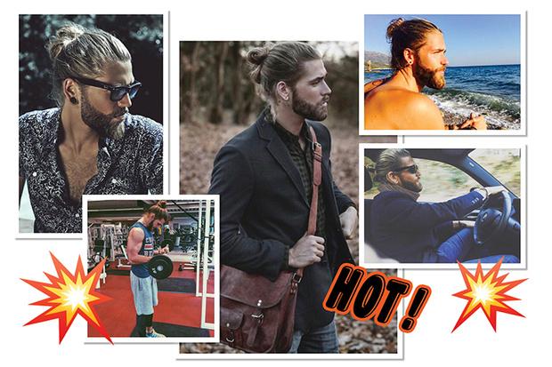 Фото №10 - Зейн, Гарри и еще 13 парней, которым идут пучки