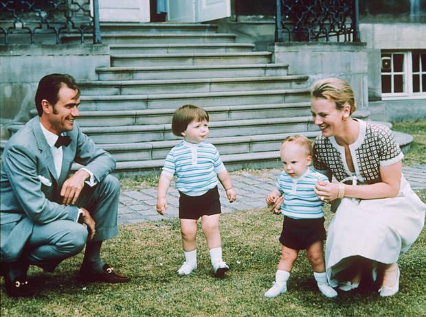 Фото №15 - Принц Хенрик и Королева Маргрете: история любви в фотографиях