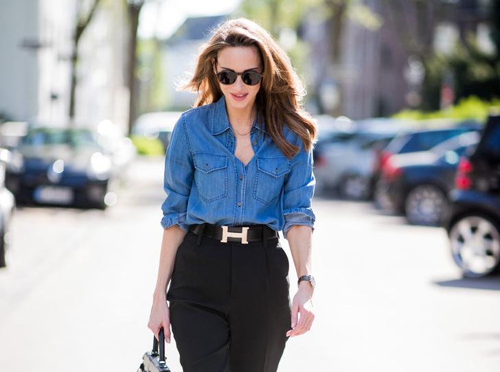 Фото №1 - Расширяем гардероб: 5 способов носить джинсовую рубашку в офис