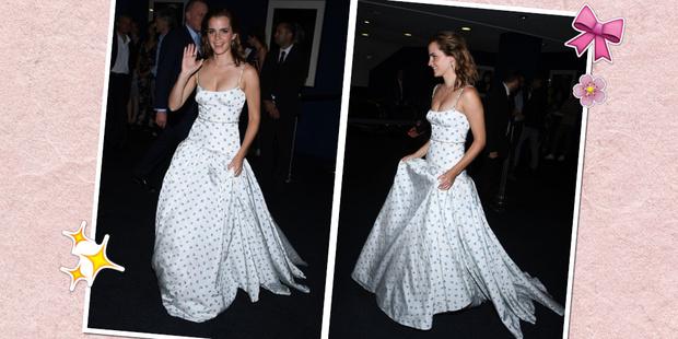 Фото №1 - Эмма Уотсон поразила всех своим платьем на премьере фильма!