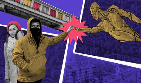 «Мы вытаскивали художников из отделений полиции»