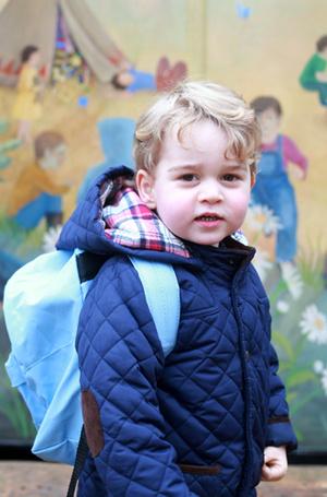 Фото №2 - Юные бунтари: принц Джордж и принцесса Шарлотта уже не соблюдают протокол