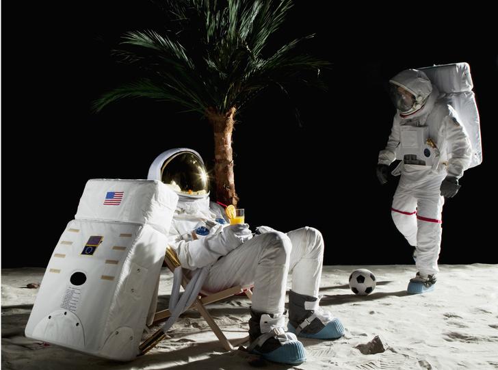 Фото №1 - Антрополог назвал самый убедительный довод в пользу того, что американцы действительно высадились на Луну