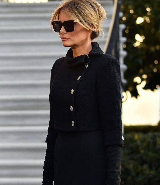 Фото №3 - Ухожу красиво: Мелания Трамп покидает Белый дом