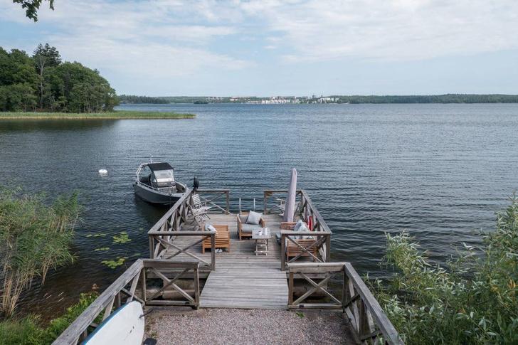 Фото №13 - Замок на берегу озера в Швеции