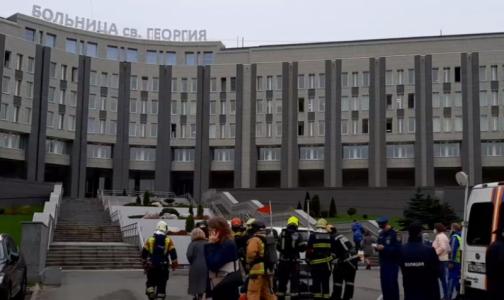 Фото №1 - Главный следователь Петербурга: Во время пожара в больнице святого Георгия погибли 5 пациентов
