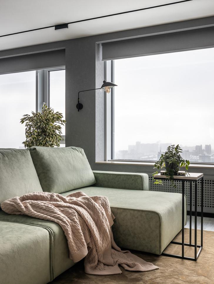 Фото №4 - Графика и минимализм: квартира для студента в Уфе 76 м²