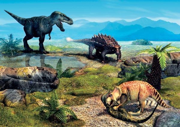 Фото №2 - Вооружение эпохи динозавров