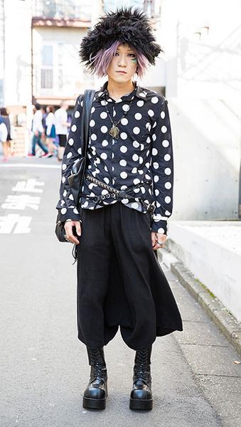 Фото №2 - Уличный стиль: такие странные японцы