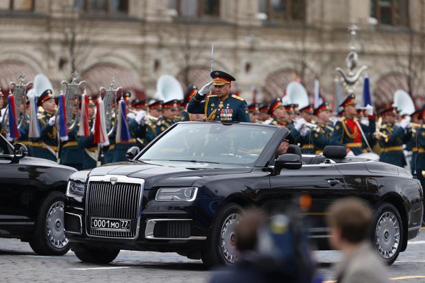 Фото №3 - В Москве прошел парад в честь 76-летия Победы