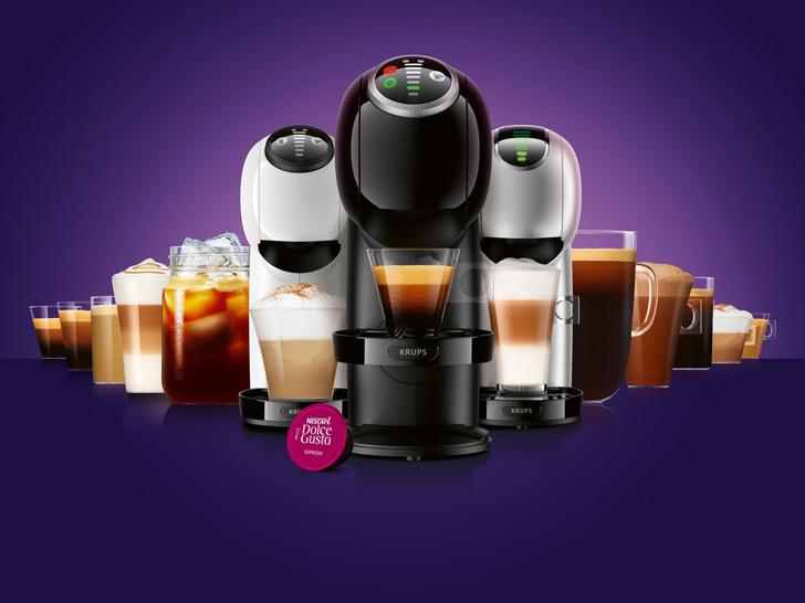 Фото №1 - Превосходный кофе у Вас дома: новая линейка высокотехнологичных капсульных кофемашин GENIO S от NESCAFÉ Dolce Gusto