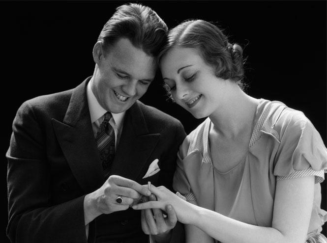 Фото №4 - Выходи за меня: как менялось помолвочное кольцо (и зачем оно было нужно)