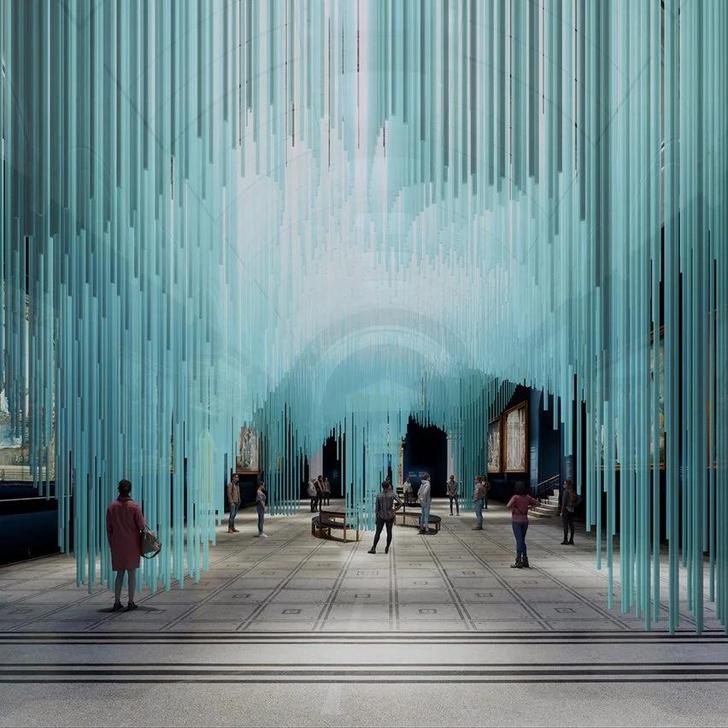 Фото №2 - «Медуза» Су Фудзимото в лондонском Музее Виктории и Альберта